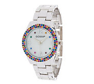 Gossip Multi-colored Crystal Bracelet Watch - J271992