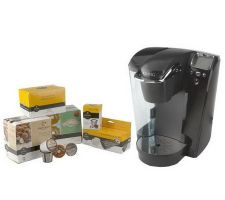 Keurig Platinum Series Quiet Brewer w/48 K-Cups& My K-Cup