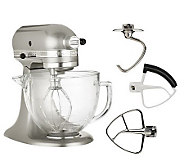 KitchenAid Deluxe Edition 5qt 325 Watt 10SpeedTiltHead Stand Mixer - K34708