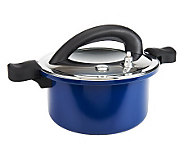 CooksEssentials 6 Quart Color Smart Low Pressure Stovetop Cooker - K38508