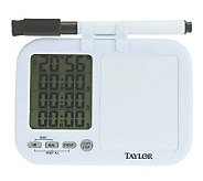 Taylor Single View 4-Event Timer w/ Whiteboard - K36512