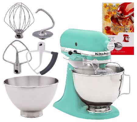 Kitchenaid 45qt 300 Watt 10 Speed Stand Mixer W Additional Bowl