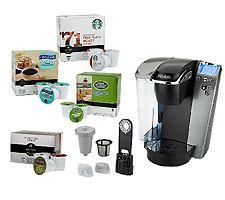 Filterless Coffee Maker Reviews : Keurig K79 Platinum Plus Coffee Maker w/ 64 K-Cup Packs, My K-Cup & More on Easy Pay - Bargain ...