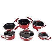 Gordon Ramsay 10-Piece Nonstick Aluminum Cookware Set - K301140
