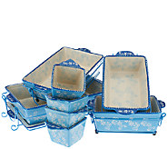 Temp-tations Floral Lace 16-Piece Oven To Table Set - K37046