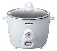 Panasonic SRG10G 5.5-cup Rice Cooker with GlassLid - K126149