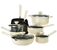 CooksEssentials Hardcoat Enamel II Nonstick 13-pc. Cookware Set - K0460
