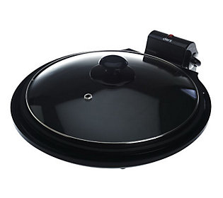 Deni Nonstick Griddle w/ Glass Dome Lid & Non-Skid Feet