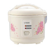 Tiger 10-Cup Rice Cooker/Warmer/Steamer - K126568