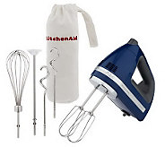 KitchenAid Professional 9 Speed Digital Hand Mixer w/ Bag&Attachments - K34571