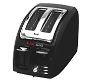 T-Fal Two-Slice Toaster - Black - K130278