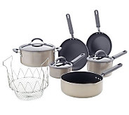 CooksEssentials ColorSmart Nonstick 10-pc Aluminum Cookware Set - K39180