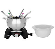Trudeau 3-in-1 Electric Fondue Set - K298290