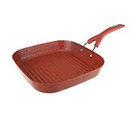 The Neelys 11 Nonstick Aluminum Speckled Square Grill Pan - K39191