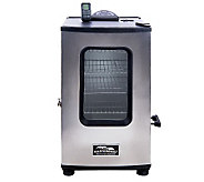 Masterbuilt Stainless Steel 4 Rack Digital Electric Smoker with Remote - K35592