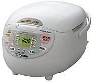 Zojirushi Neuro Fuzzy 10-Cup Rice Cooker and Warmer - K120095
