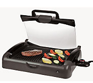 Kalorik Indoor/Outdoor Carry Grill with Glass - K129896