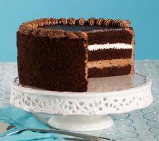 Junior's Cheesecake Sugarless Chocolate Dream Layer Cake