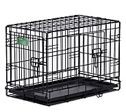 Pet Home I-Crate Double Door 24-inch Dog Crate - M109514
