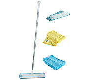 Don Asletts Microfiber Opti-Mop w/ 3 Pads and6Coths - M111616