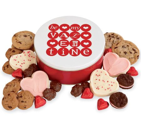 Cheryls Valentines Day Gift Tin   Treats Assortment —