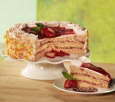 Sweet Endings Desserts 10-inch Fresh StrawberrySummer Cake