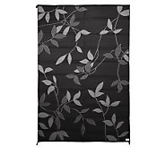 Leaf Design 6x9 ft. Reversible Outdoor Mat by Royal Sun Mats - M26369