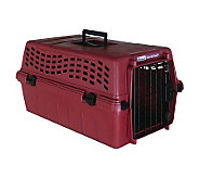 Petmate Deluxe Vari Kennel Junior - Medium Maroon - M105773