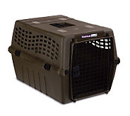 Petmate Deluxe Vari Kennel Junior - Large Olive - M105777