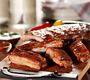 Corkys BBQ (6) 1 lb. Rib Racks in Choice of Sauce & Dry Rub - M28382
