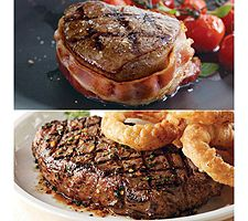 Kansas City Steak Filet Mignon & Strip Steak Combo