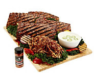 Corkys (4) 1 lb. Ribs and BBQ Pulled Pork Nacho Kit - M41182
