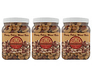 Germack (3) 16 oz. Jars Fancy Deluxe Mixed Nuts - M25286