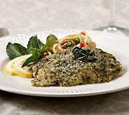 The Perfect Gourmet (12) 4 oz. Basil Pesto Tilapia - M41887