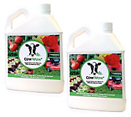 Set of 2 Cow Wow 1 qt. Liquid Fertilizers - M27291