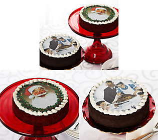 M29097 Junior's Norman Rockwell Holiday Cheesecakes