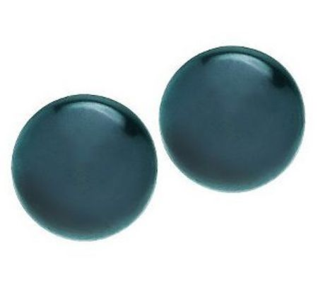 Honora Sterling Cultured Pearl 11.0mm Button Stud Earrings - J261586