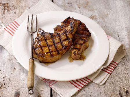 Grilled Terriyaki Marinated Pork Chops