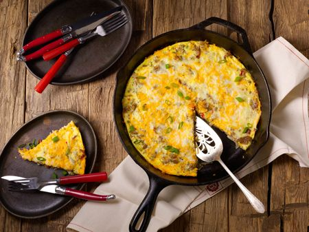 Healthy Meat Lovers Frittata