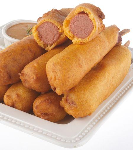 Batter-Fried Corn Dogs