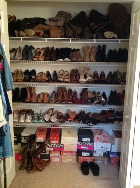 Lauren's Shoe Closet
