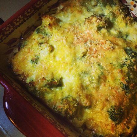 Gluten-Free, Super-Easy Broccoli Casserole