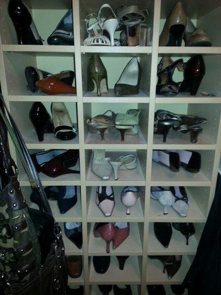 Carolyn Gracie's closet