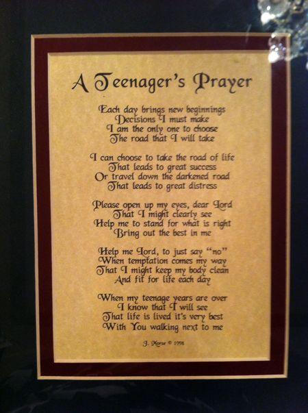 Teen Prayers 41