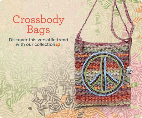 The Sak Crochet Crossbody Bag