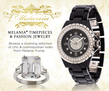 Melania(R) bracelet watch & simulated diamond ring