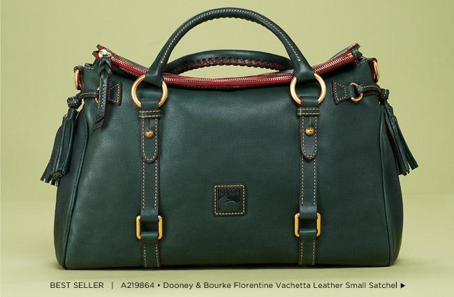 A219864 • Dooney & Bourke Florentine Vachetta Leather Small Satchel