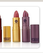 What's Hot at the Q. Bring more glamour into your life in a wearable, practical way with a specially designed collection of lipsticks that every woman can wear. A199188-Lipstick Queen 3-piece Lipstick Discovery Collection