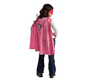 Girl Superhero Cape Hero Mask Dress Up by Little Adventures - T124500