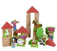 My Soft World Farm 29-Piece Foam Toy